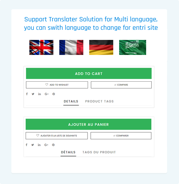 Smart- Shopify themes smart responsive with Translator - Multi language